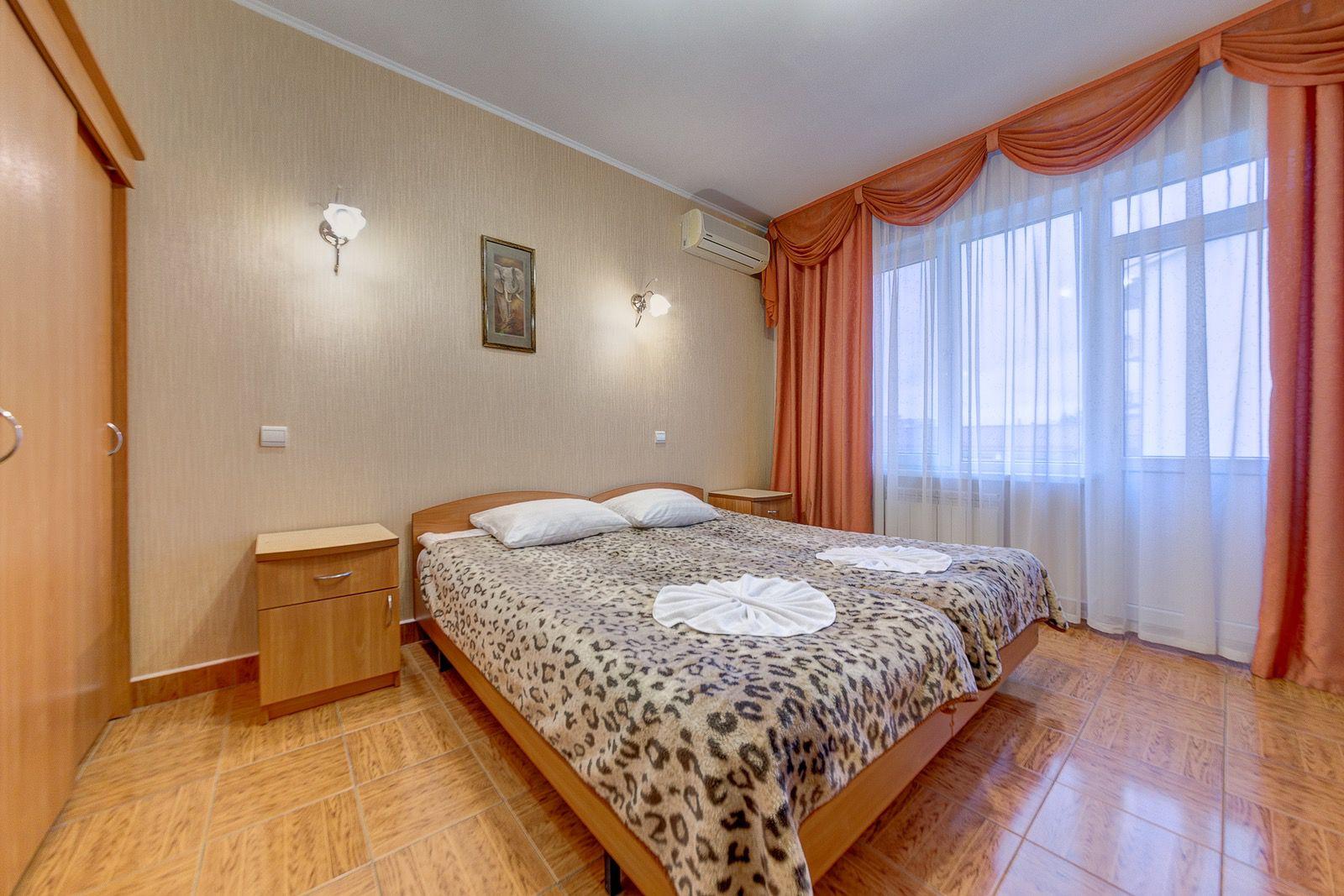 Гостиница «Маргарита», 1-й корпус, 1-комнатный «Стандарт»